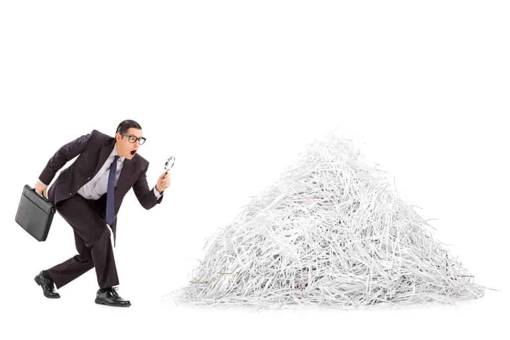 Can Shredded Paper Go in Yard Waste?